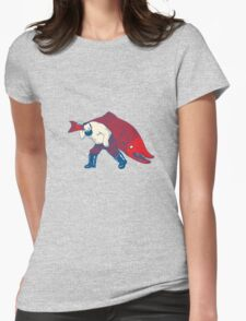 Big Fish Womens Fitted T-Shirt