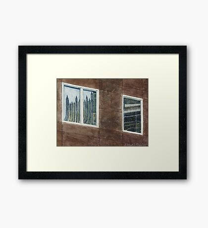 PNC and PPG reflected Framed Print