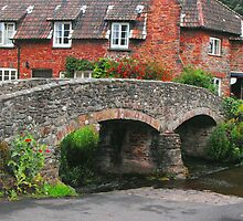 My England.  Packhorse Bridge at Allerford Somerset by trish725
