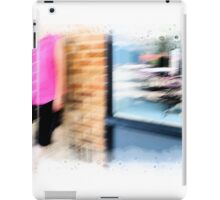Standing on the Corner iPad Case/Skin
