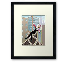 Just Another Manhattan Day Framed Print