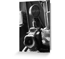 Dusty gauge Greeting Card