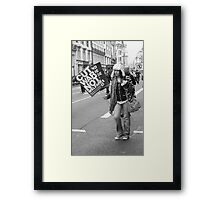 Protest Framed Print
