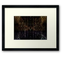 Between the Woods and the Water Framed Print