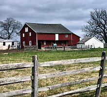 Gettysburg Farm by Monnie Ryan