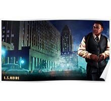 L.S.Noire Franklin Poster
