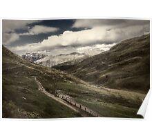 Mountaiscape in Val Valecia Poster