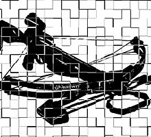 Tiled Design - Crossbow by Crayle