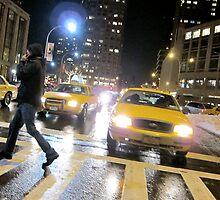 Lincoln Center Crosswalk by Greg Palermo