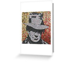 The Neil - Bottle Cap Mosaic Greeting Card