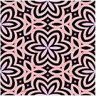 Pink and Black Floral Graphic - 1 of 2 (please see notes) by Ra12