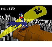 "Rick the chick ""BAT CHICK"" Photographic Print"