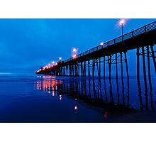 Oceanside Pier Photographic Print