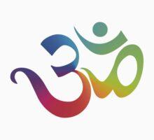 Yoga Om Symbol T-Shirt Kids Tee