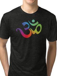 Yoga Om Symbol T-Shirt Tri-blend T-Shirt