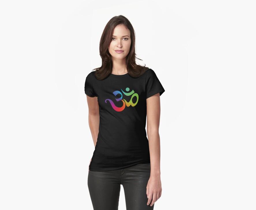Yoga Om Symbol T-Shirt by T-ShirtsGifts