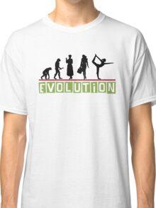 "Yoga ""Evolution"" T-Shirt Classic T-Shirt"
