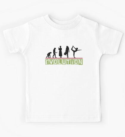 "Yoga ""Evolution"" T-Shirt Kids Tee"