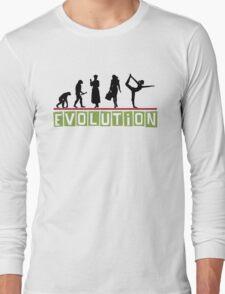 "Yoga ""Evolution"" T-Shirt Long Sleeve T-Shirt"