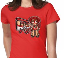 Mod Mascot Tag Womens Fitted T-Shirt