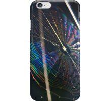 Iridescent Spiderweb iPhone Case/Skin