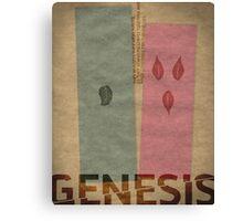 Word: Genesis Canvas Print