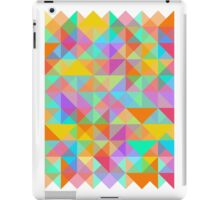 Geometric Shape Triangle Pattern 02 iPad Case/Skin