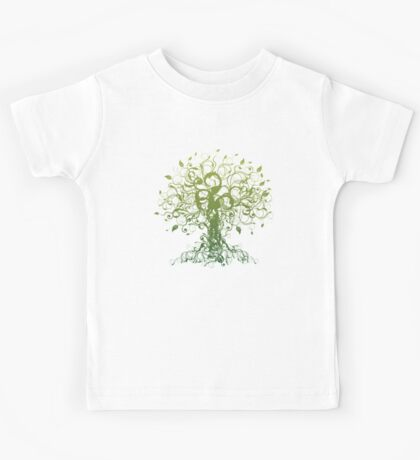 Meditate, Meditation, Spiritual Tree Yoga T-Shirt  Kids Tee