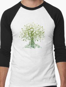 Meditate, Meditation, Spiritual Tree Yoga T-Shirt  Men's Baseball ¾ T-Shirt