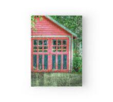 Red Garage Hardcover Journal