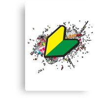 JDM Sticker Bomb Canvas Print