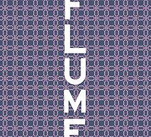 Flume font white by miiky