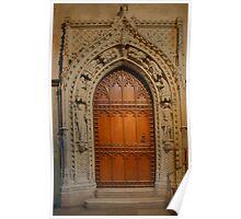 Rochester Cathedral - Hamo's Door Poster