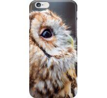 Tawny Owl Side Profile iPhone Case/Skin