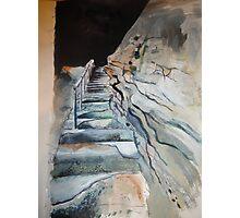 Rocky Steps .... Photographic Print