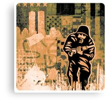 Urban Solider Canvas Print