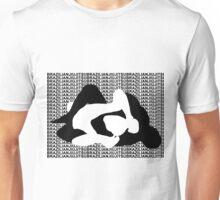 BRAZILIAN JIU JITSU MMA REAR NAKED CHOKE  Unisex T-Shirt