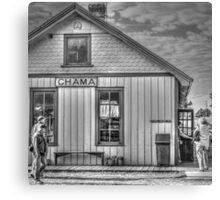 Chama General Store Canvas Print