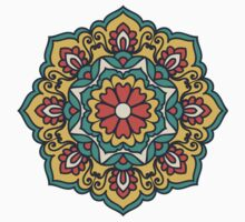 Mandala - Circle Ethnic Ornament Kids Tee