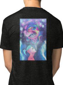 An Eye for Hookah - Breathe Tri-blend T-Shirt