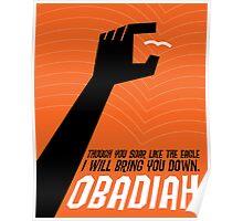 Word: Obadiah Poster