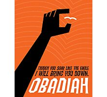Word: Obadiah Photographic Print