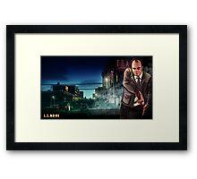 L.S.Noire Trevor Framed Print