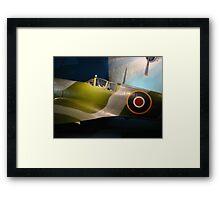 British Spitfire Framed Print