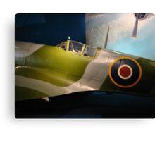 British Spitfire Canvas Print