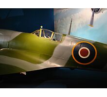 British Spitfire Photographic Print