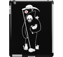 Death Is A Cat Person iPad Case/Skin