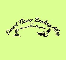 Desert Flower Bowling Alley and Arcade Fun Complex by fakebadger