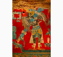 Ancient Mayan Image at the Anthropological Museum in Mexico City Unisex T-Shirt