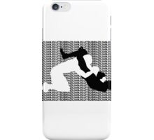 BRAZILIAN JIU JITSU MMA TRIANGLE CHOKE  iPhone Case/Skin